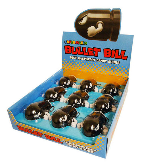 Super Mario - Bullet Bill and more Confectionery at The Professors Online Lolly Shop. (Image Number :16547)