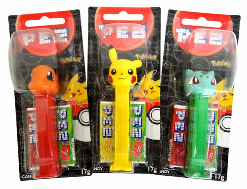Pez Candy Dispensers -Pokemon, by Pez,  and more Confectionery at The Professors Online Lolly Shop. (Image Number :13644)