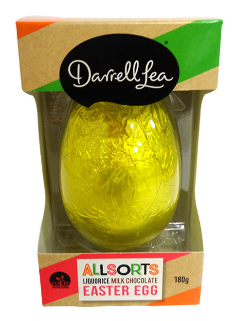 Darrell Lea Allsorts Liquorice Shaker Egg  - RUNOUT SPECIAL, by Darrell Lea,  and more Confectionery at The Professors Online Lolly Shop. (Image Number :14575)