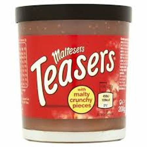 Maltesers Teasers Chocolate Spread, by Other,  and more Snack Foods at The Professors Online Lolly Shop. (Image Number :13373)