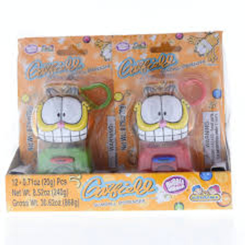 Garfield Gum Dispenser, by Kidsmania,  and more Confectionery at The Professors Online Lolly Shop. (Image Number :13390)