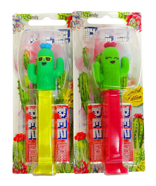 Pez Candy Dispensers - Cactus, by Pez,  and more Confectionery at The Professors Online Lolly Shop. (Image Number :14235)