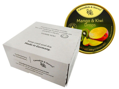 Cavendish & Harvey - Mango & Kiwi and more Confectionery at The Professors Online Lolly Shop. (Image Number :13918)