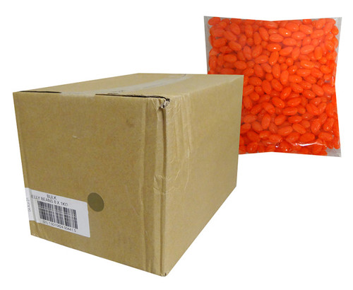Allseps Bulk Jelly Beans - Orange, by Metford Confectionery/Other,  and more Confectionery at The Professors Online Lolly Shop. (Image Number :13873)