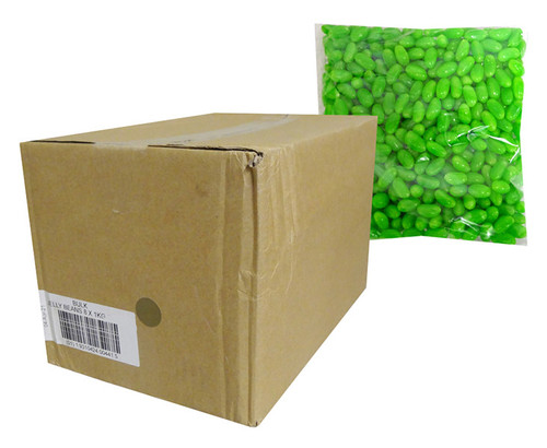 Allseps Bulk Jelly Beans - Green, by Allseps,  and more Confectionery at The Professors Online Lolly Shop. (Image Number :13872)