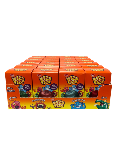 Wizz Fizz Monster Surprise Mallow Egg  - RUNOUT SPECIAL and more Confectionery at The Professors Online Lolly Shop. (Image Number :14174)