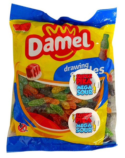 Damel Super Sour Worms, by Damel,  and more Confectionery at The Professors Online Lolly Shop. (Image Number :13818)
