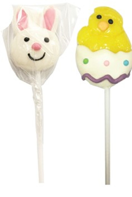 Easter Decorated pops 6 Pack and more Confectionery at The Professors Online Lolly Shop. (Image Number :14045)