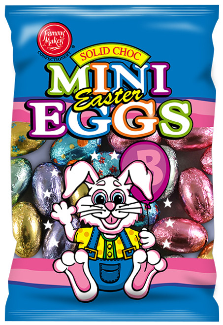 Milk Choc Mini Eggs -  RUNOUT SPECIAL and more Confectionery at The Professors Online Lolly Shop. (Image Number :14041)