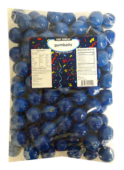Candy Showcase Gumballs - Royal Blue, by Lolliland,  and more Confectionery at The Professors Online Lolly Shop. (Image Number :14423)