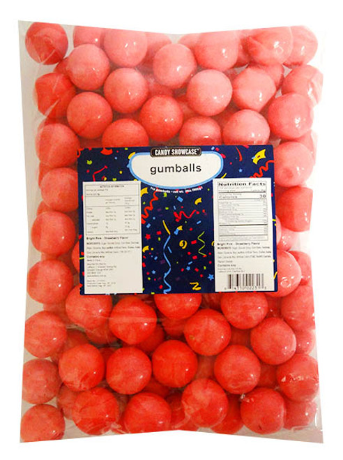 Candy Showcase  Gumballs - Bright Pink, by Lolliland,  and more Confectionery at The Professors Online Lolly Shop. (Image Number :14411)