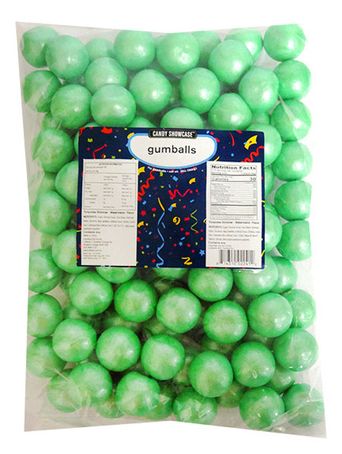 Candy Showcase Gumballs - Turquoise, by Lolliland,  and more Confectionery at The Professors Online Lolly Shop. (Image Number :14427)