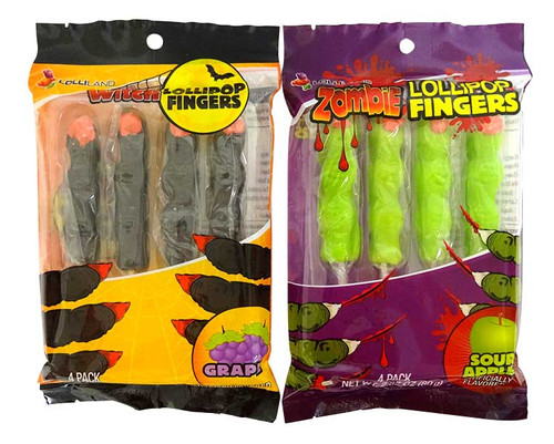 Witches & Zombie Fingers and more Confectionery at The Professors Online Lolly Shop. (Image Number :17100)