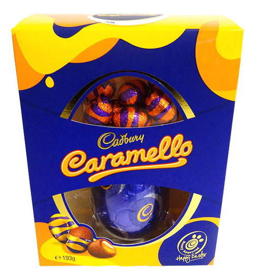 Cadbury Caramello Egg Gift Box, by Cadbury,  and more Confectionery at The Professors Online Lolly Shop. (Image Number :14376)