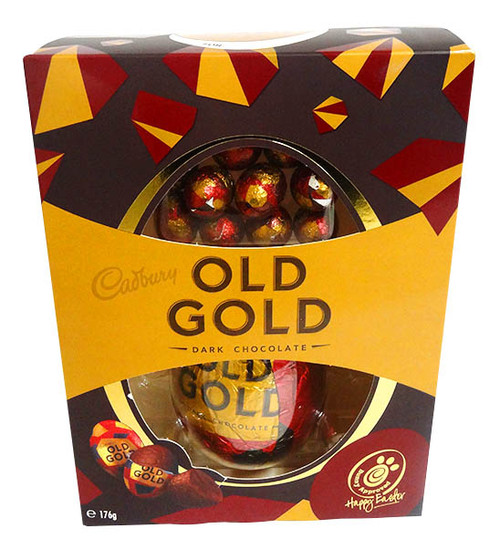 Cadbury Old Gold Egg Gift Box, by Cadbury,  and more Confectionery at The Professors Online Lolly Shop. (Image Number :14402)