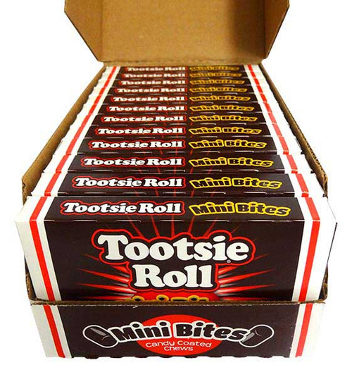 Tootsie Roll Mini Bites, by Tootsie Roll Industries,  and more Confectionery at The Professors Online Lolly Shop. (Image Number :14534)