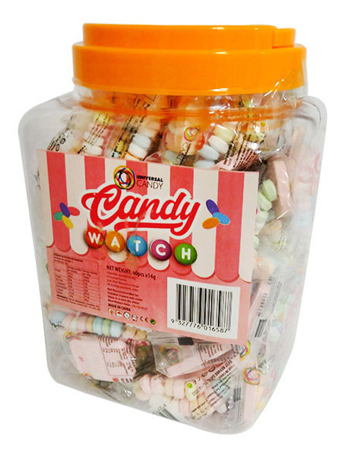 Candy Watch - Individually wrapped (60pc x 14g  Display Tub)