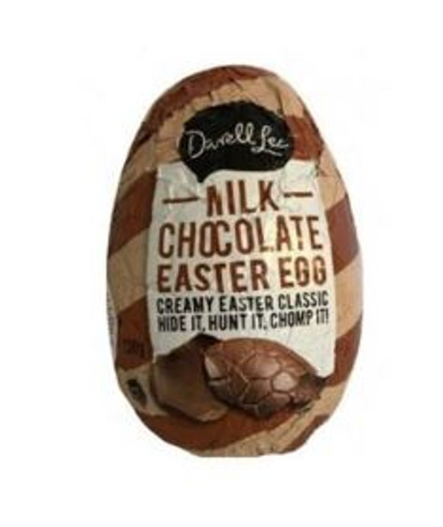 Darrell Lea Milk Chocolate Hollow Egg -  RUNOUT SPECIAL - Single, by Darrell Lea,  and more Confectionery at The Professors Online Lolly Shop. (Image Number :15640)