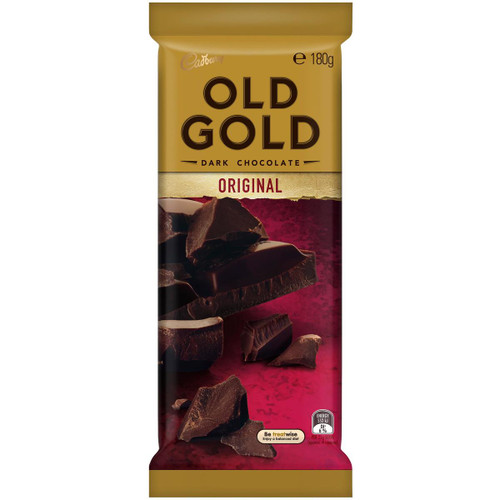Cadbury Old Gold - Dark Chocolate, by Cadbury,  and more Confectionery at The Professors Online Lolly Shop. (Image Number :14510)