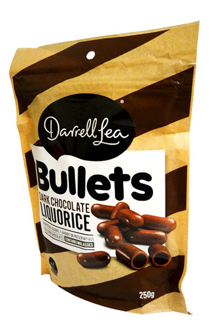 Darrell Lea - Dark Choc Bullets, by Darrell Lea,  and more Confectionery at The Professors Online Lolly Shop. (Image Number :15781)