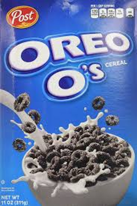 Oreo o s Cereal and more Snack Foods at The Professors Online Lolly Shop. (Image Number :14483)