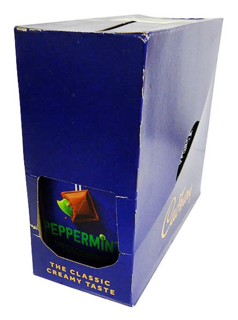 Cadbury Dairy Milk Peppermint Family Blocks (180g x 15pc box)