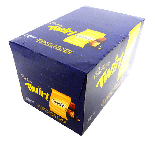 Cadbury Caramilk Twirl - Two Pack (42 x 39 bars)