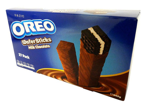 Oreo Waffer Sticks - Milk Chocolate (27 x Single Pack)