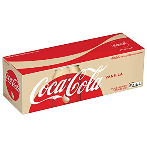 Coca-Cola - Vanilla, by Coca-Cola,  and more Beverages at The Professors Online Lolly Shop. (Image Number :14677)