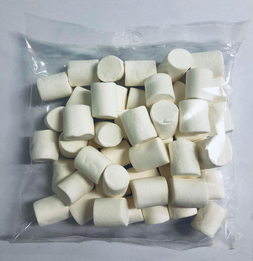 So Soft Marshmallows White Extruded / Cylinder and more Confectionery at The Professors Online Lolly Shop. (Image Number :14969)