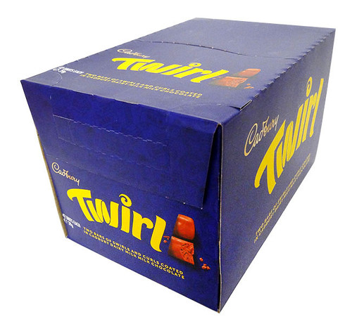 Cadbury Twirl, by Cadbury,  and more Confectionery at The Professors Online Lolly Shop. (Image Number :16850)