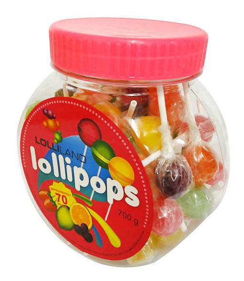 Lolliland  Lollipop Jar (700g)