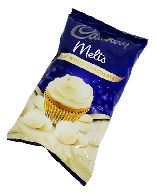 Cadbury Melts  - White Chocolate and more Other at The Professors Online Lolly Shop. (Image Number :16003)