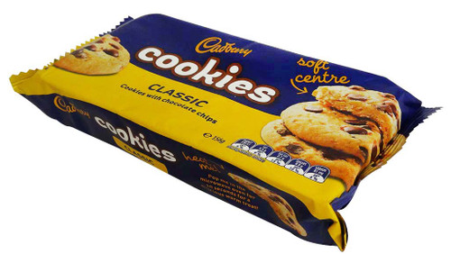 Cadbury Cookies Classic and more Snack Foods at The Professors Online Lolly Shop. (Image Number :15964)