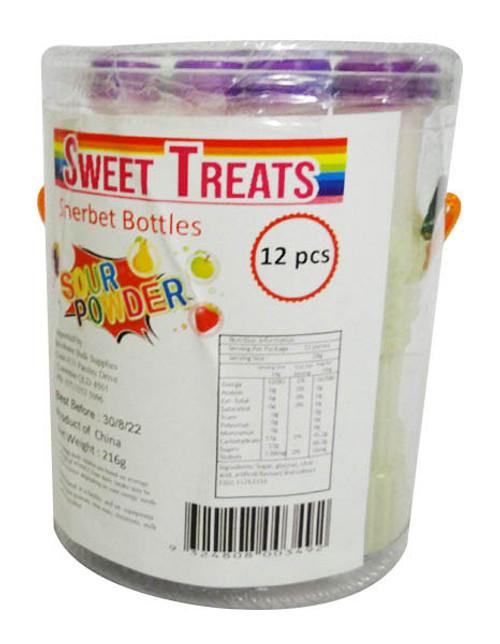 Sweet Treats Sherbet Bottle ( 12 x 18g)