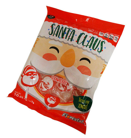 Santa Clause Tattoo Pop and more Confectionery at The Professors Online Lolly Shop. (Image Number :16525)