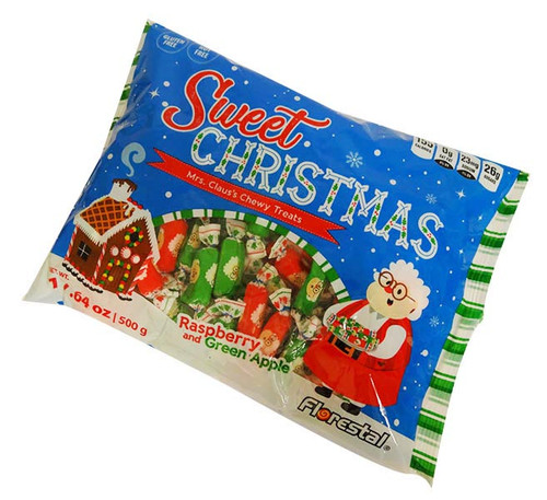 Sweet Christmas Mrs Claus Chewy Treats and more Confectionery at The Professors Online Lolly Shop. (Image Number :16550)