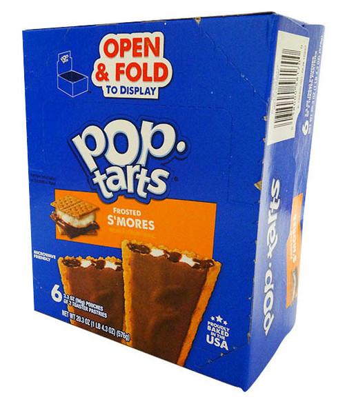 Kelloggs Pop Tarts - Smores  (6 pouches of 2 x 100g toaster pastries)