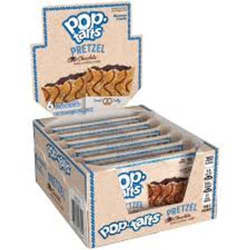 Kelloggs Pop Tarts - Pretzel Chocolate, by Kelloggs Pop Tarts,  and more Snack Foods at The Professors Online Lolly Shop. (Image Number :14875)