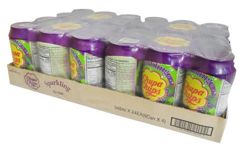 Chupa Chups Drink - Grape ( 24 x  345ml Cans)