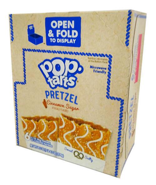 Kelloggs Pop Tarts - Pretzel Brown Sugar Cinnamon (6 pouches of 2 x 100g toaster pastries)