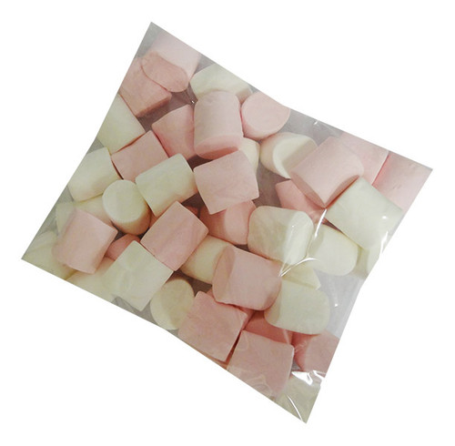 So Soft Marshmallows Pink and White Extruded / Cylinders  (200g bag)