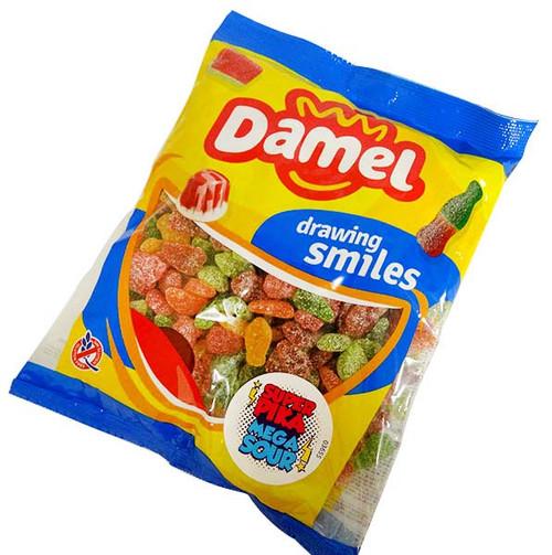 Damel Mega Sour Fruits (1kg bag)