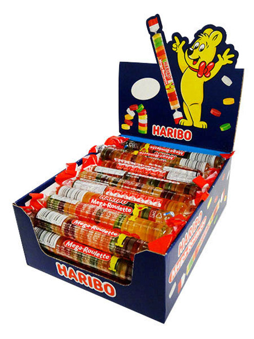 Haribo Mega Roulette, by Haribo,  and more Confectionery at The Professors Online Lolly Shop. (Image Number :16078)