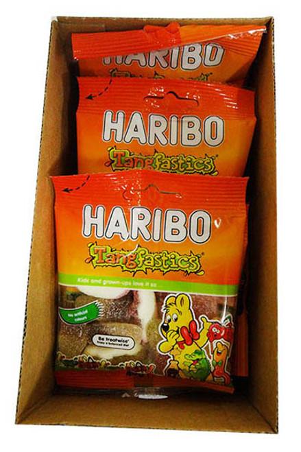 Haribo Tangfastics Bags (40g x 16 bags per box)