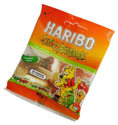 Haribo Tangfastics Bags, by Haribo,  and more Confectionery at The Professors Online Lolly Shop. (Image Number :15856)