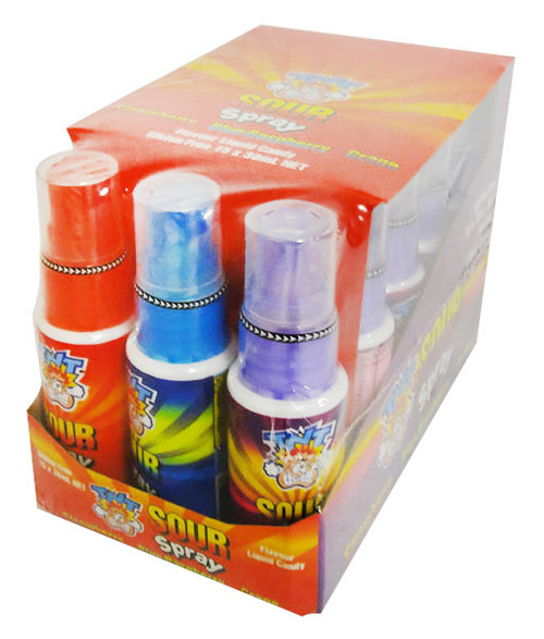 TNT Mini Sour Spray, by TNT,  and more Confectionery at The Professors Online Lolly Shop. (Image Number :16245)