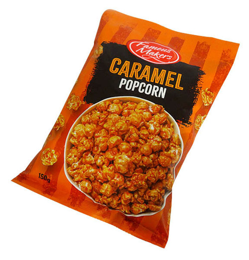 Caramel Popcorn, by The Popcorn King,  and more Snack Foods at The Professors Online Lolly Shop. (Image Number :16011)