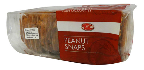 Aviateur - Peanut Snaps and more Snack Foods at The Professors Online Lolly Shop. (Image Number :15946)