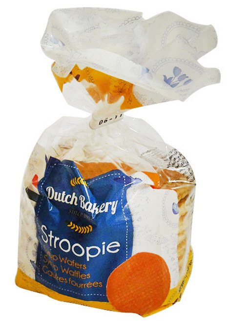 Dutch Bakery - Stroopie - 12 % Butter (252g - 8 Syrup Wafers)